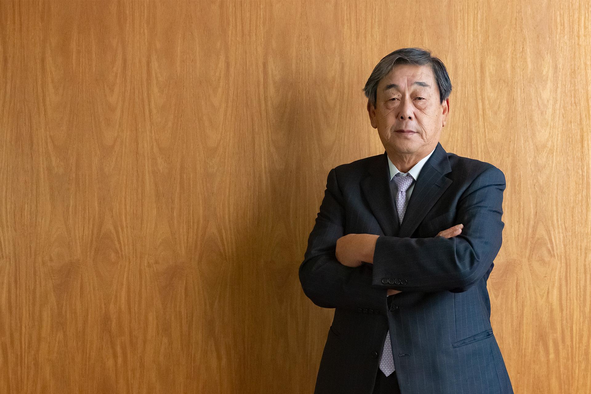近江化学工業株式会社 代表取締役社長 竹下 敏孝